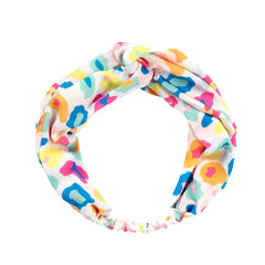 Bright Multi Leopard Headband
