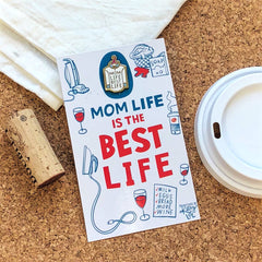'Mom Life' Enamel Pin by PBK