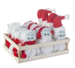 Yeti Ornaments - Choice of Style