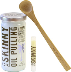 Peppermint Oil Pulling Kit by Skinny Co.