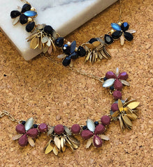 Petite Statement Necklace - Choice of Colors
