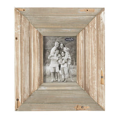 "14"" X 12"" Reclaimed Wood Picture Frame by Mud Pie"