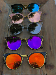 Betty Mirrored Sunglasses- Multiple Colors Available