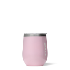 12 oz Stemless Cocktail by Corkcicle - Rose Quartz