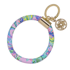 Round Keychain by Lilly Pulitzer - Mermaid in the Shade