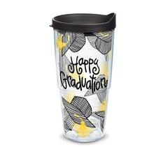 Coton Colors 'Happy Graduation' 24 oz Double Wall Tumbler by Tervis (2-3 Week Production Time)