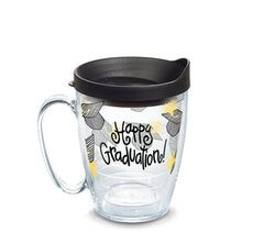 Coton Colors 'Happy Graduation' 16 oz Double Wall Mug by Tervis (2-3 Week Production Time)