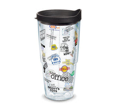 'The Office' Favorites Collage 24 oz Double Wall Tumbler by Tervis (Ships in 2-3 Weeks)
