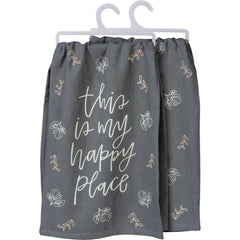 'This Is My Happy Place' Kitchen Towel