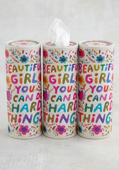 Beautiful Girl Car Tissue Set