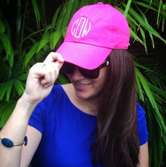 Monogrammed Baseball Cap (1-2 Week Production Time)