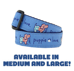 USA Pup Collar by Puppie Love