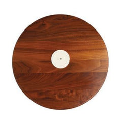 Walnut Lazy Susan by Nora Fleming