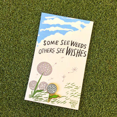'Others See Wishes' Enamel Pin by PBK