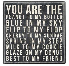 You are the best to my friend home decor gifts