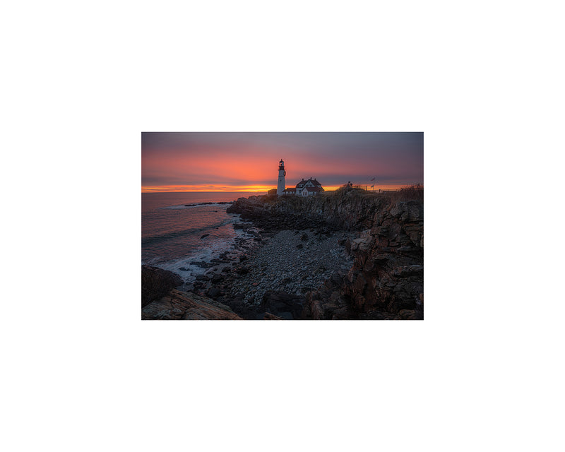Portland Head Light Sunrise 2020