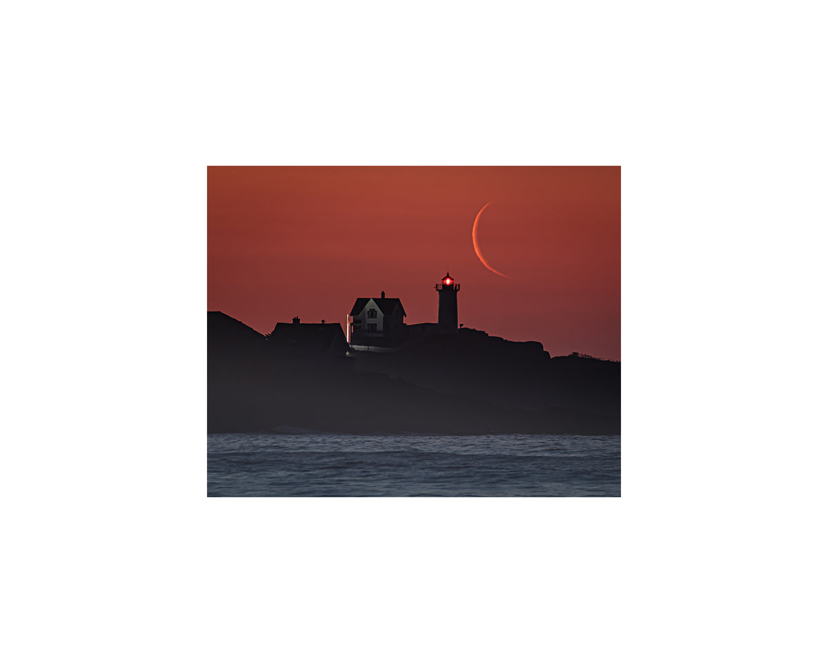 Nubble New Moon