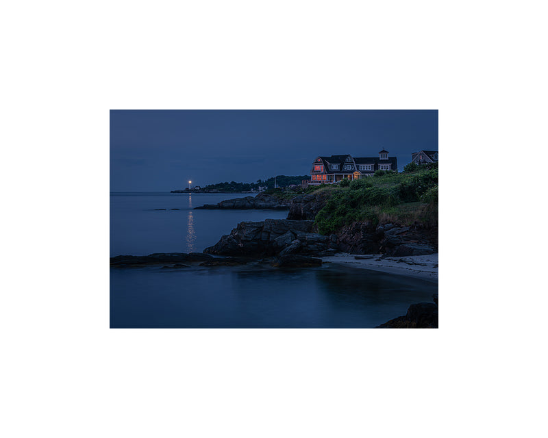 Cape Elizabeth Blue Hour