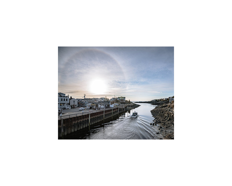 Perkins Cove Sun Halo