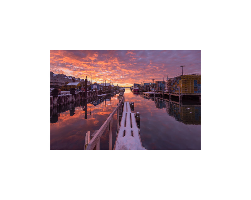 Widgery Wharf Sunrise