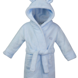 Blue Super Soft Dressing Gown