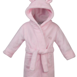 Pink Super Soft Personalised Dressing Gown
