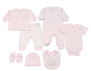 Pink Stars & Stripes Layette