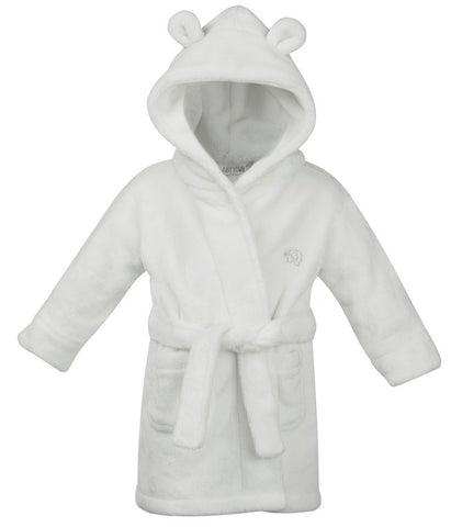 White Super Soft Personalised Dressing Gown
