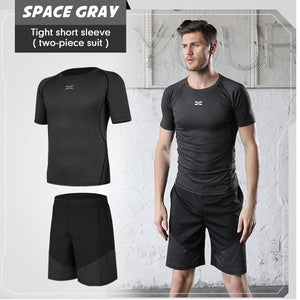 Men's Skinny Training PRO Short Sleeve Fitness Stretch Quick Dry T-Shirt