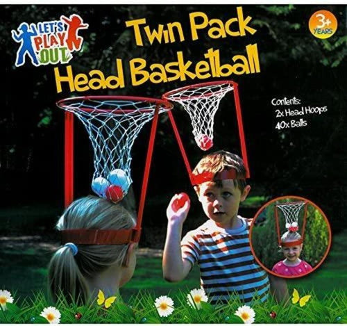 Basket Head Toy - Creative Kids Game Mini Basketball Hoop