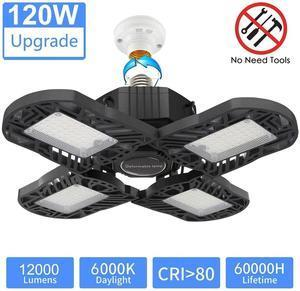 Four-Leaf LED Garage Lights(2020 New Upgrad)