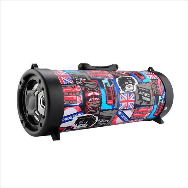 The Last Day 55% OFF-Wireless Bluetooth Waterproof Portable High-power Music Barrel Bluetooth Speaker