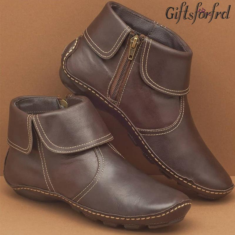 【WINTER SALE】Casual Comfy Daily Side Zip Martin Boots