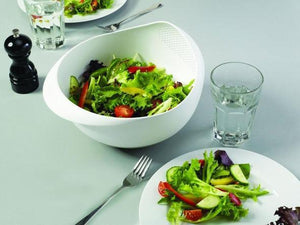 【BUY 2 & GET 1 FREE】Prep and Serve Multi-Function Bowl with Integrated Colander