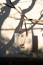 Load image into Gallery viewer, Red Shelduck, illustrated handmade tote bag