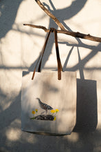 Load image into Gallery viewer, Corn crake - illustrated artisanal tote