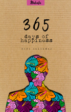 "Load image into Gallery viewer, Mahala Magazine ""365 days of happiness"" calendar"