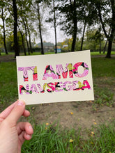"Load image into Gallery viewer, ""Ti amo navsegda"" postcard"