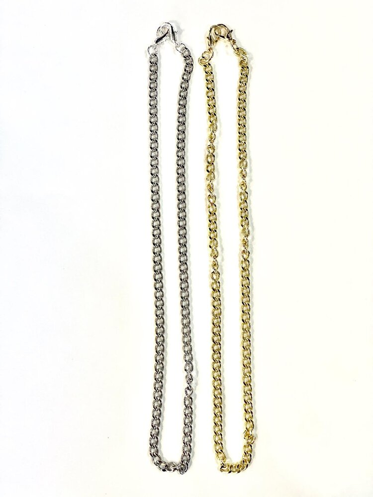 Gold Mask Chain