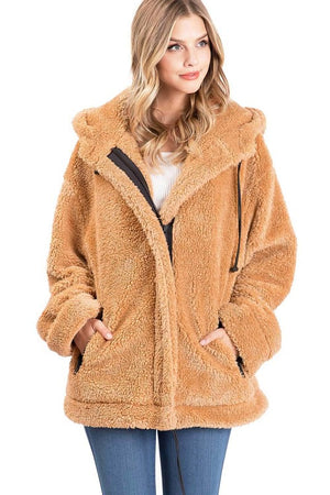 Oversized Teddy Jacket