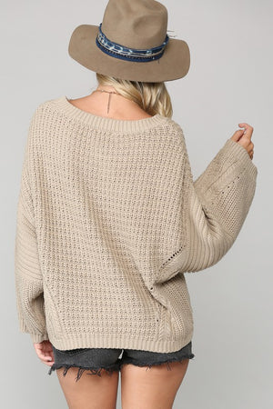 Chunky Knit Sweater