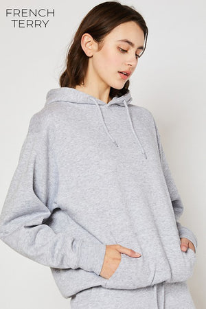 L/S FRENCH TERRY HOODIE
