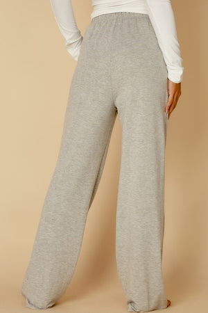 Straight Leg Sweatpants