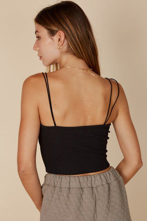 STRAPPY CROPPED TANK