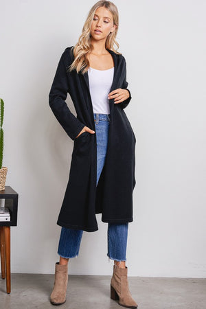 L/S DUSTER CARDIGAN