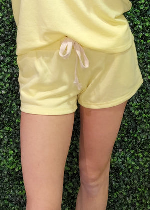 Twenty5A - French Terry Pull On Shorts