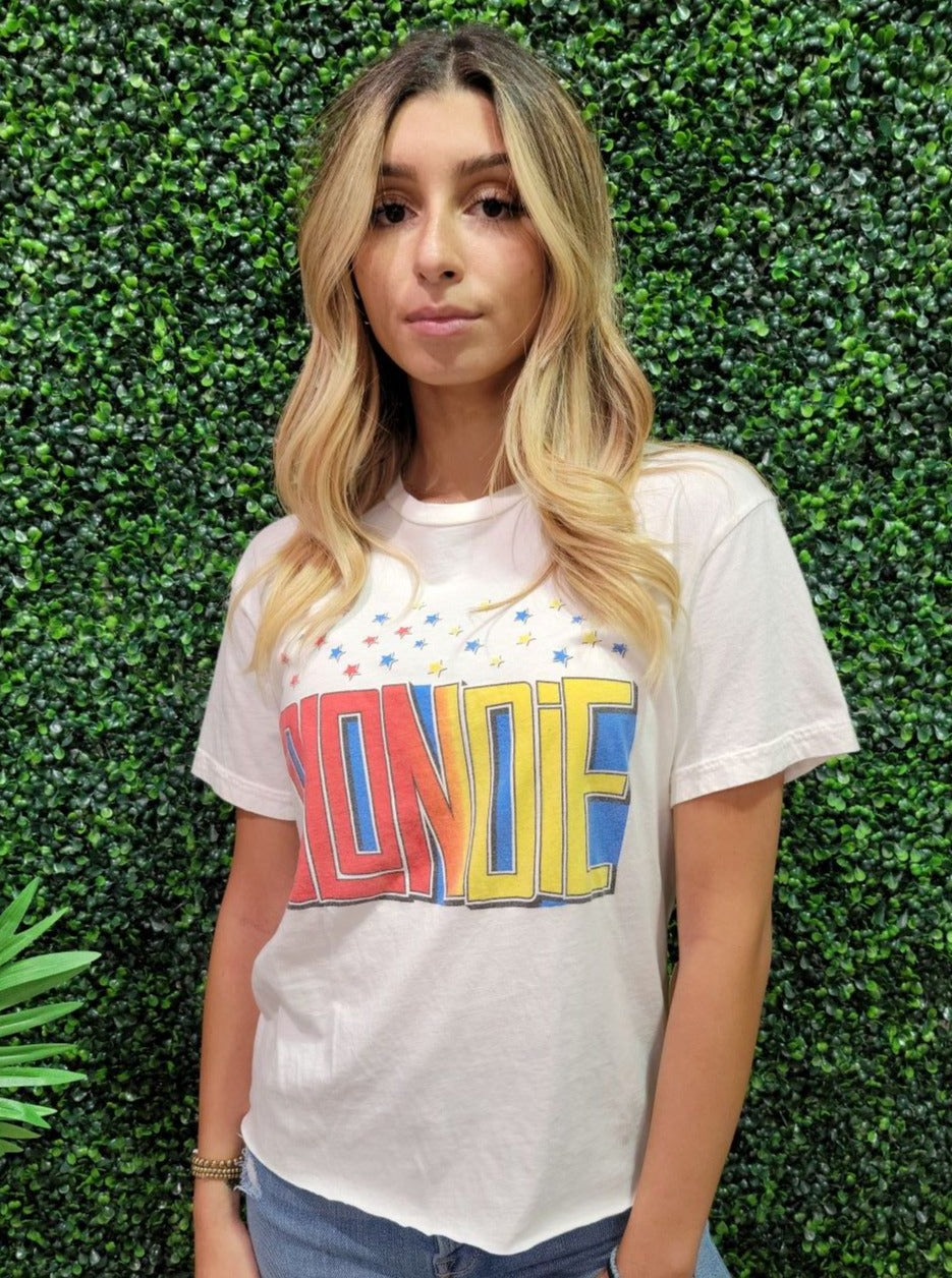 Blondie Cropped Tee