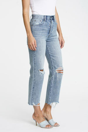 Pistola - Cassie High Rise Straight Crop Jeans