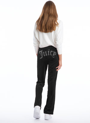 Juicy Couture - Velour Embellished Track Pants
