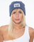 Boys Lie-Beanie Hthr Navy